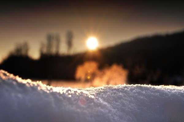 Солнце на морозе