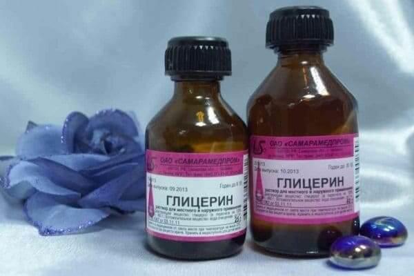 Глицерин как эффективное средство для выведения пятен