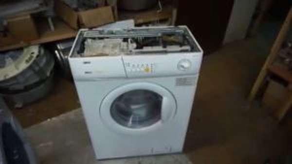 Как разобрать стиральную машину Занусси