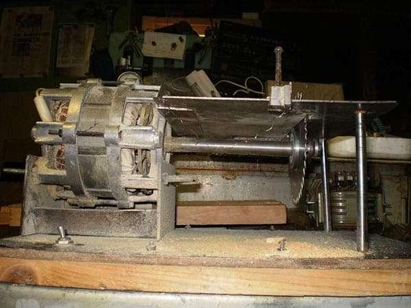 Циркулярка из двигателя стиральой машины своими руками