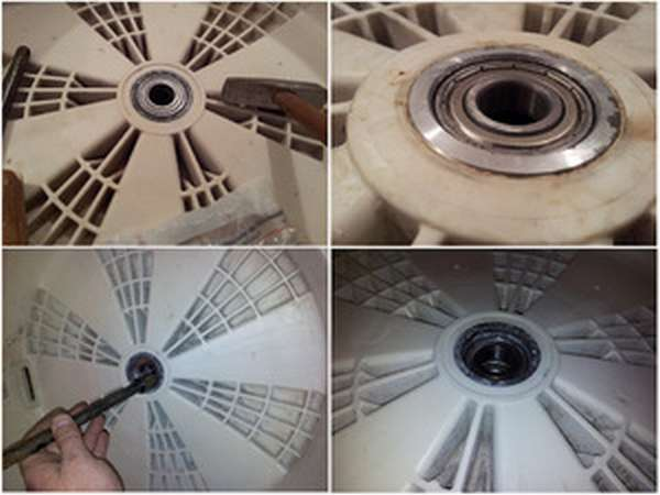 Как заменить подшипник на стиральной машинки
