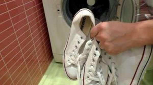 Можно ли стирать кеды в стиральной машине автомат