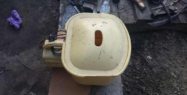 Разборка стиральной машины «Малютка»