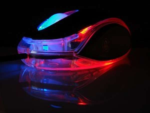 Лазерная компьютерная мышь