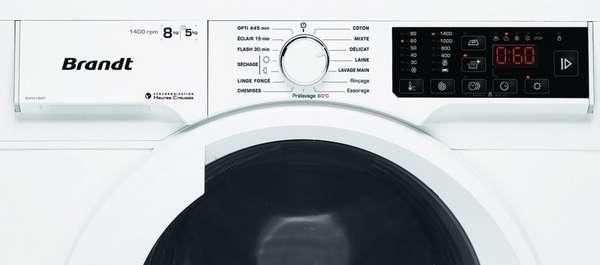 Коды ошибок стиральных машин Брандт
