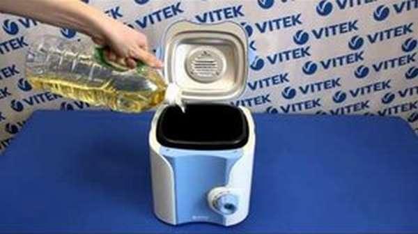Профессиональная фритюрница Vitek VT