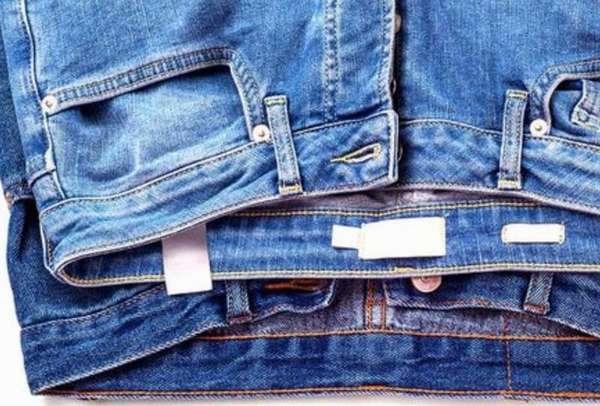 Подготовка джинсов к стирке