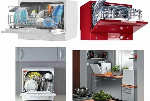 Обзор компактных посудомоечных машин
