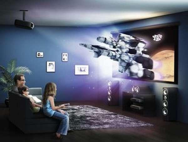 Домашние кинотеатры проекторы