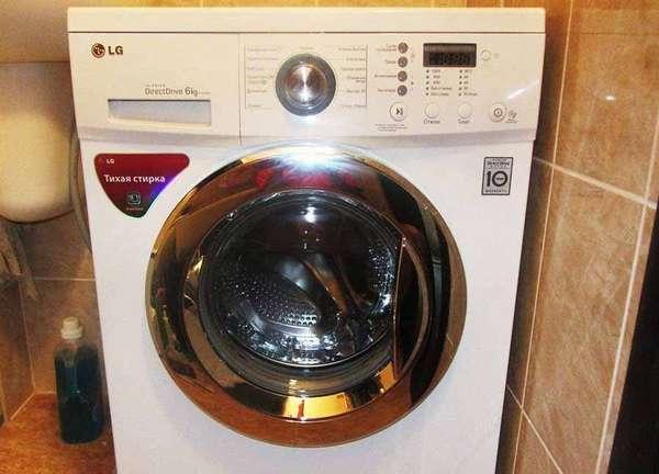 Фронтальная стиральная машина LG