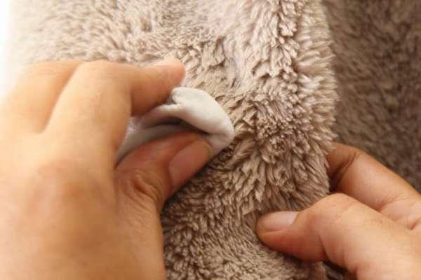 Ручная стирка овчина