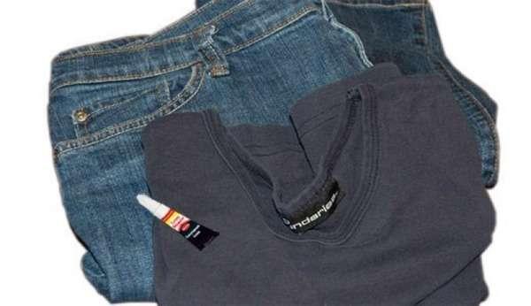 Как отстирать супер клей «Момент» с одежды и джинсов