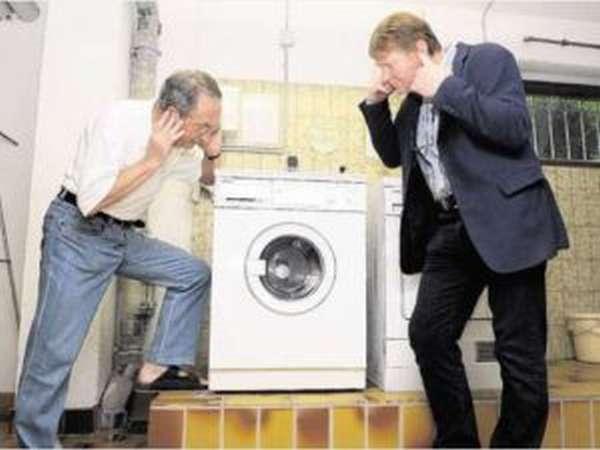 стиральная машина сильно шумит при отжиме