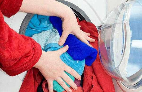 Перегрузка барабана стиральной машины