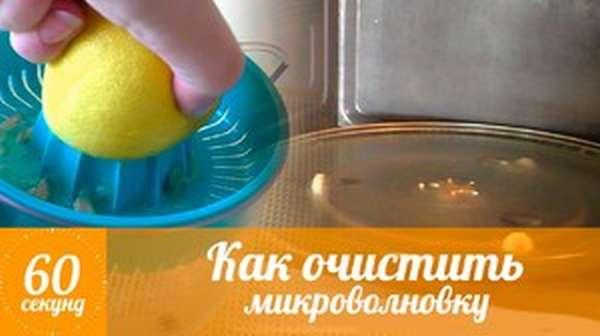 Лимон в очистке печи