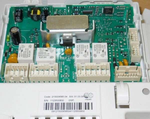 Электронный модуль стиральной машины Индезит