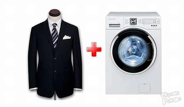 Этот вид ткани подходит для стирки в стиральной машине.
