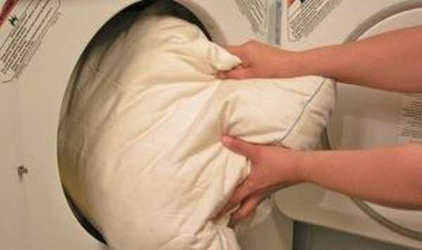 Как стирать бамбуковые подушки в стиральной машине