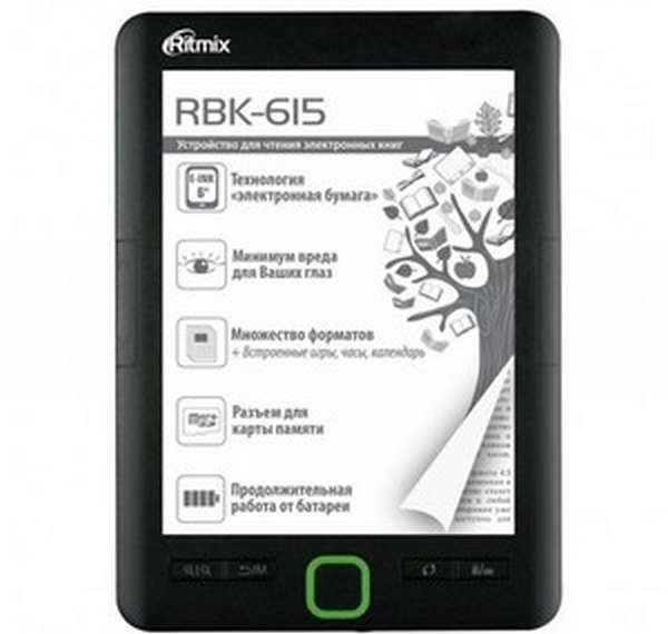 Ritmix RBK-615: особенности модели