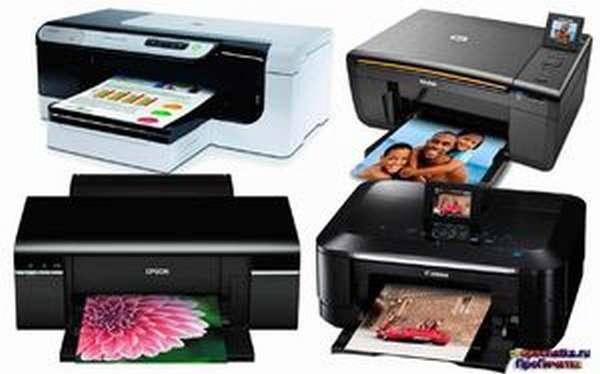 Разновидности принтеров по типу устройства