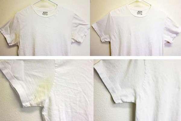 Пятна на белой одежде