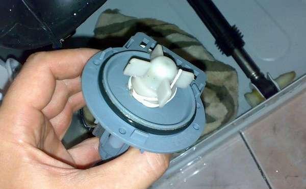 поломка Сливного насоса для посудомоечной машины