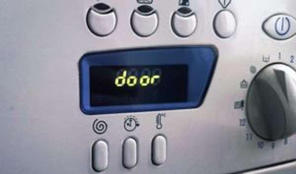Ошибка Door в стиральных машинах