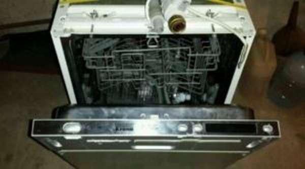 Ошибка E4 в посудомоечной машине Krona