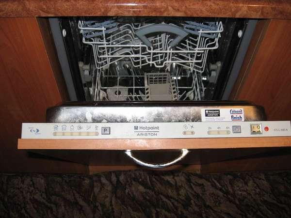 Коды ошибок посудомоечных машин Ariston (Аристон