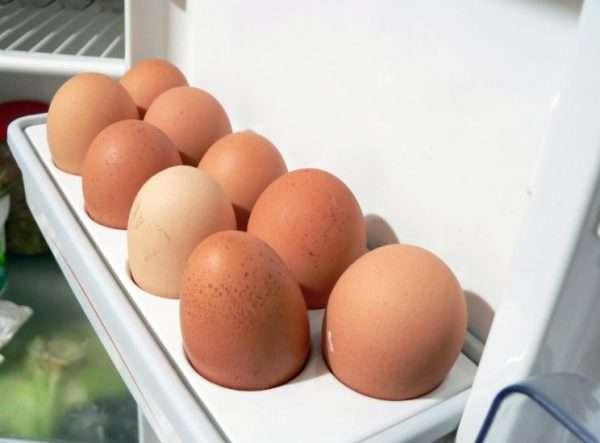 Яйцо куриное условия хранения