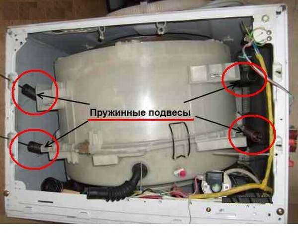 пружинные подвесы стиральной машины