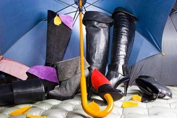 Способы и правила машинной стирки зимней кожаной обуви