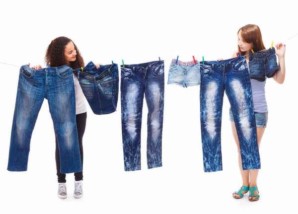 Как избавиться от пятен на джинсах различного типа