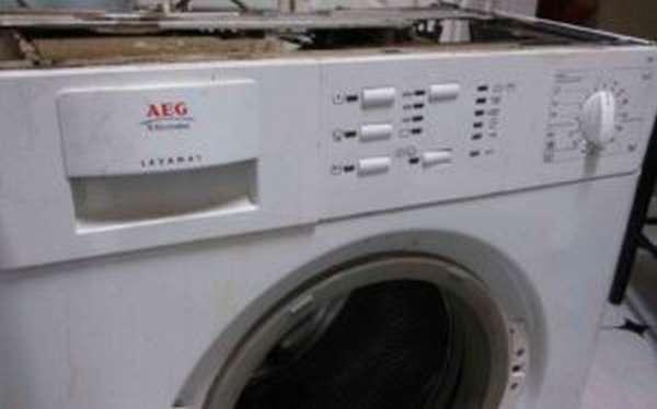 Ремонт стиральных машин AEG своими руками