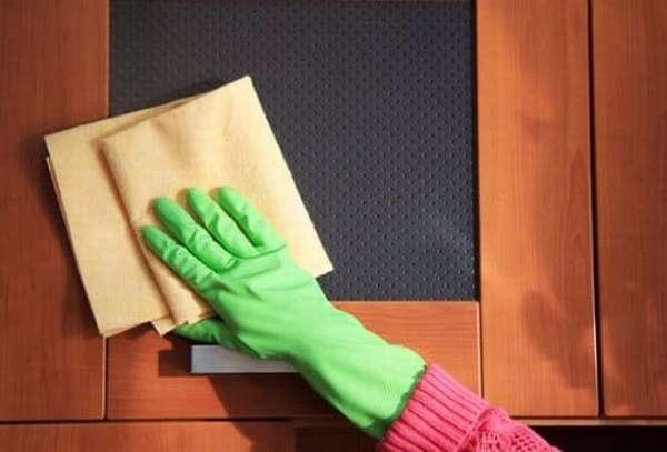 Как очистить матовое стекло от жирных пятен