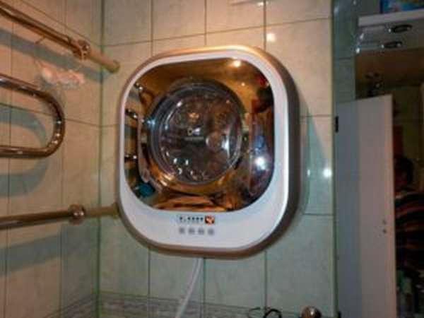 Настенная стиральная машина daewoo