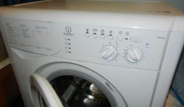 Ошибка F02 на стиральной машине Indesit