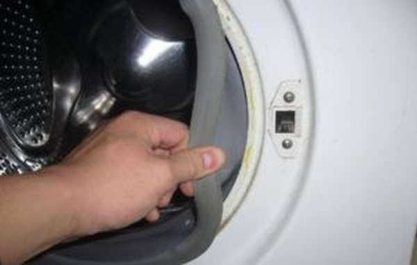 Замена манжеты люка на стиральной машине LG