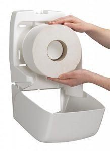 Как выбрать диспенсер для туалетной бумаги?