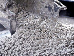 Какая марка бетона используется для заливки фундамента плиты?