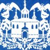 Трафареты на день России